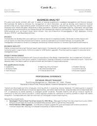 Financial Analyst Resume Example Best Of Business Analyst Sample Resume Finance And Senior Financial Analyst