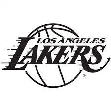 The lakers logo consists of a basketball that depicts the nature and identity of the team, and the stretched lines from the text signifies the fast speed of the team. Pin By Low End George Publishing On Sports Wall Decals Los Angeles Lakers Logo Lakers Lakers Logo
