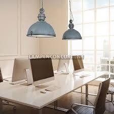 Grijze Industriële 2 Lichts Eettafel Lamp Met Balk