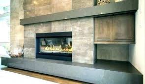 slate tiled fireplace slate tiled fireplace gray tile fireplace grey tile fireplace cabin grey stone fireplace