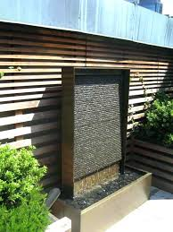 outdoor waterfall wall custom outdoor res main image wall fountains outdoor clearance uk