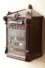 Small Picture Amazing antique French mailbox 1st dibs find Accents