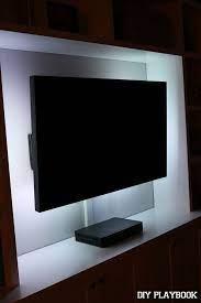 lights behind tv led lights