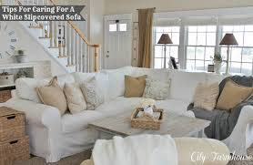 Real Life With A White Slipcover Keeping It Pretty City Farmhouse