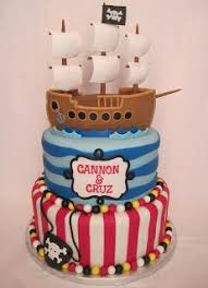 Pirate Ship Cake Cakes And Cupcakes For Kids Birthday Party