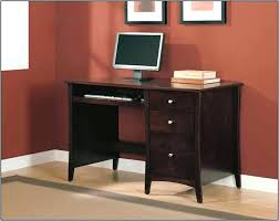 wood home office desks small. Small Desk With Filing Drawer Free Ship Furnishings Dark Brown Wood Home Office Desks