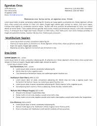 Easy To Read Resume Format 71 Images Quick Resume Update And
