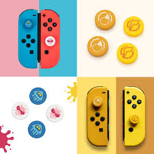 For Nintendo Switch NS <b>Joy</b> Con Controller Silicone Analog Thumb ...