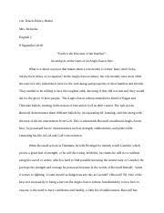 beowulf is described as having the strength of thirty men in just 6 pages beowulf essay