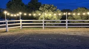 Horse Arena Lights Diy Riding Arena Lights Budget Equestrian