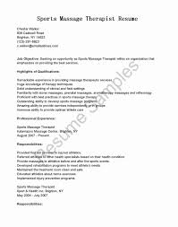Aba Therapist Resume Sample Inspirational Massage Therapist Resume