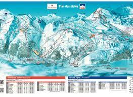 BERGFEX: Pistenplan Val d'Isère - Tignes - Panoramakarte Val  d'Isère - Tignes - Karte Val d'Isère - Tignes