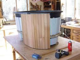 cedar hot tub siding