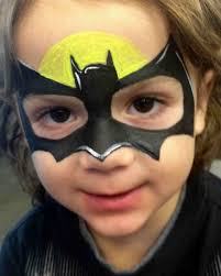 am a bat girl face paint idea