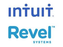 revel logo. intuit \u0026amp; revel systems logo