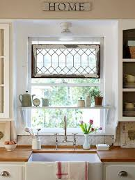 Window Decoration 23 Best Cottage Kitchen Decorating Ideas And Designs For 2017