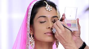 step 3 to give the foundation a finished look apply the lakmé absolute white intense wet and dry pact this will keep your makeup on as you dance and