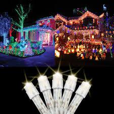 Christmas Lights Nhl 18 100 Led Christmas Lights 30 Feet Holiday Light Tree String