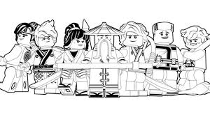 For lego lover, ninjago coloring pages can help them to recognize more details about the character. Coloring Pages Cool Lego Ninjago Coloring Coloriage
