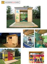 the ultimate cubby house modern play shed time green 100
