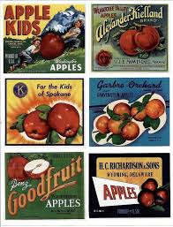 Vintage Food Labels Vintage Label Stickers Repro Food Advertising Old Food Labels
