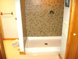replace shower pan how to install a new shower pan replacing fiberglass shower shower replace shower