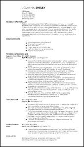 Proven Resumes Free Professional Hotel Hospitality Resume Templates