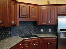 decorative painting kitchen cabinet in faux cherry