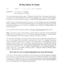 Notice To Vacate Letter Template For 60 Day Notice To Vacate Harriscatering Info
