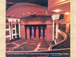 Kravis Center Dreyfoos Hall Seating Chart O Keefe Centre Architec S Rendering Of Redesigned Interior