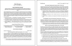 2 Page Resumes Resume Job