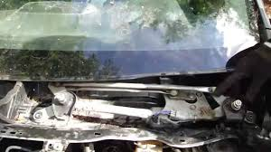 How to replace Windshield wiper motor Toyota Corolla years 2007 to ...