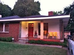 Decorative 4x4 Post Wraps Makin It In Memphis House Exterior Renovation Done