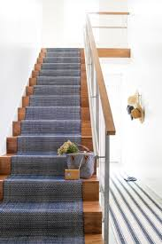 nice design of dash and albert stair runner — railing stairs and