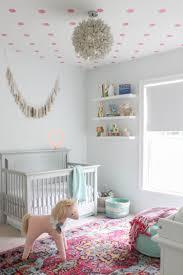 Sydney\u0027s Baby Girl Nursery - Room Reveal c/o Havenly   Ceiling ...