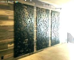 wood and metal wall panel decorative screens panels gorgeous outdoor