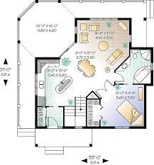 An open floor plan promotes easy livability, while the master bedroom is located at the back of the house for added privacy. One Story Cottage House Plan Professional Builder House Plans