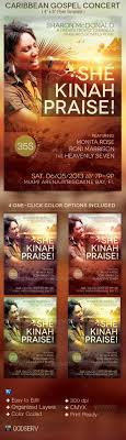 Reggae Gospel Concert Flyer Template #4605A17B0C50 - Abilityskillup
