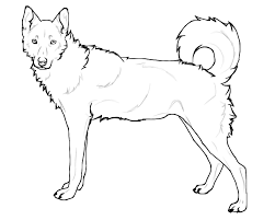 Small Picture Printable 14 Realistic Husky Coloring Pages 4718 Realistic Husky