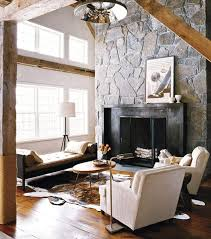 designs ideas stunning living space with black stone fireplace and modern day bed also small