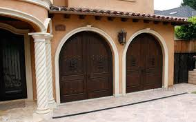 open arched double doors. Rustic Exterior Doors Open Arched Double D