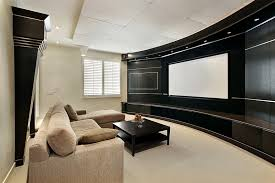 simple home theater ideas. amazing design living room home theater ideas 16 with black curved wall screen simple