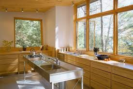 Lake House Kitchen Christopher Campbell Architecture Lake House