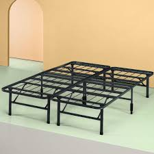 raised full bed frame. Exellent Full Zinus 14 Inch SmartBase Mattress Foundation Platform Bed Frame Box Spring  Replacement Quiet On Raised Full Frame