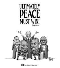 ultimately peace must win leti arts
