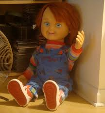 life size chucky doll image the chucky doll in stuart s home jpg the fanfiction wiki