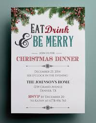 free christmas dinner invitations fre simple free christmas party invitation templates invitation