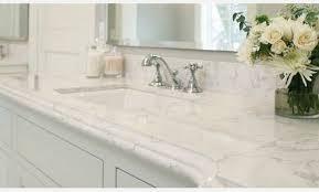 quartz countertop that looks like carrara marble countertops look