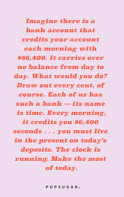 Life Is Precious Quotes Adorable Time Is Precious LifeChanging Inspirational Quotes POPSUGAR