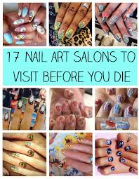 17 Nail Art Salons You Have To Visit Before You Die - Nail Splash
